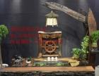 昭通市老船木家具茶桌椅子沙发茶台茶几办公桌餐桌鱼缸置物架案台