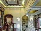 重庆别墅墙彩绘|别墅软装|高端墙体绘画