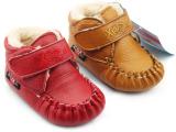 淘宝爆版2014冬款婴儿鞋 真皮魔术贴加厚保暖宝宝学步鞋 厂家直