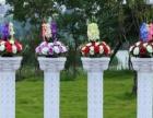 吉大精美罗马柱,婚礼花柱租借出售。包假花