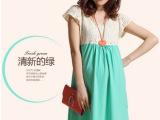 2014新款夏季孕妇装 时尚韩版短袖孕妇连衣裙 淘宝货源 一件代