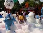 海口三亚地区户外沙滩游乐泡沫机彩色泡沫,娱乐助兴活动设备