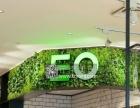 植物墙门头 绿色植物墙企业背景墙定做