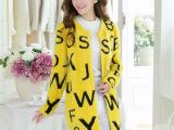 2014新款韩版秋装宽松中长款针织开衫毛衣马海毛外套女 爆版