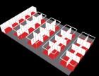 广西连排展位搭建 连排展位出租 多种组合型展位厂家租赁