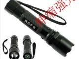 伸缩强光手电筒 尾部指南针 充电手电筒 热卖led强光电筒套装