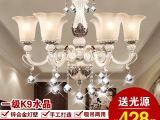 厂家批发欧式吊灯餐厅客厅灯树脂灯铁艺吊灯锌合金灯具灯饰