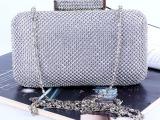 2014新款 晚宴包 高档手拿包 纯手工钻石包 链条包 欧美外贸