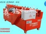 实用的钢管调直机,架子管校直机除锈除渣刷油一体机