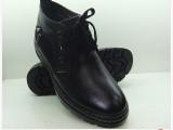 厂家直销真皮男鞋雪地靴男棉鞋内增高鞋