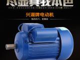 上海兴湖单相异步电机玉米脱粒机专用电机YL-100-2