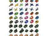 地摊热卖赠品迷你回力小汽车模型批发工程套装儿童益智玩具车多款