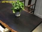 精品小尺寸黑檀实木大板,茶桌餐桌书桌