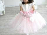 儿童 舞蹈演出服装 、表演服、少儿演出裙小学生合唱服白色公主裙