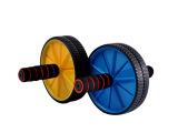 厂家直销健身器材 高级健腹轮 双轮健腹轮 滚轮体育用品