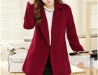 较流行女装批发工厂直销较畅销时尚韩版毛呢大衣批发质量保证