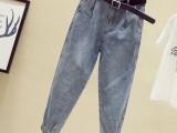 绵阳厂家直销牛仔裤订单尾货几块钱高腰牛仔裤夏季破洞裤品牌折扣