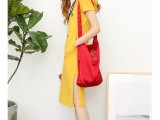 春装新款时尚气质韩版春款短袖裙子潮