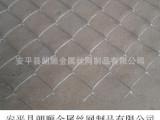 护坡铁丝网 编织菱形网 镀锌勾花网 山坡绿化铁丝网