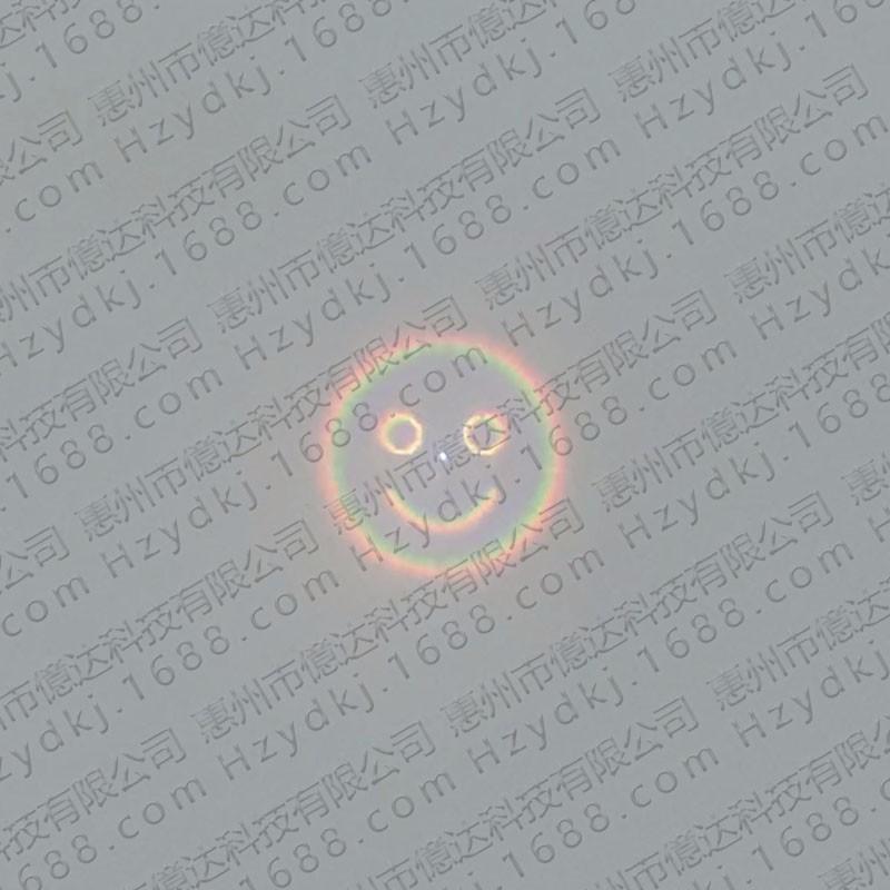 惠州市億达科技有限公司 光栅镜片 烟花图案镜片,激光图案镜片