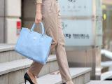2014 新品 韩版 休闲长裤 女装 显瘦 女装修身长裤 小脚铅