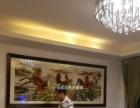 武汉家居装饰画十字绣定制、沌口超大尺寸十字绣裱框送货安装