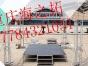 我公司专业生产设计:各种规格铝合金钢铁桁架、tru