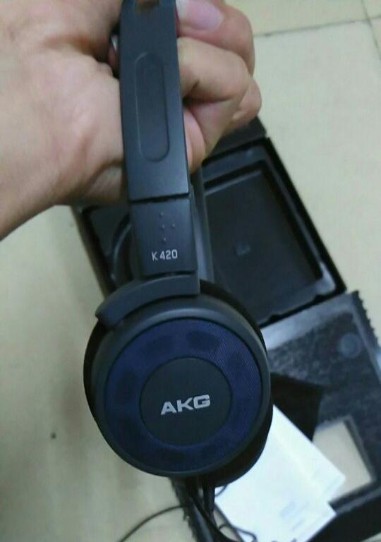 刚买的AKG420