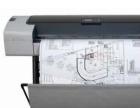 出售9成新惠普T610绘图仪 44英寸 大幅面图纸打印机