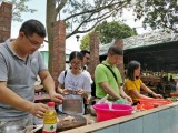 东莞城市农家乐野炊做饭值得松湖生态园