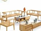 新中式禪意沙發 實木沙發 原木家具批發 有現貨
