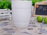 创意陶瓷杯纯白色杯子节日互赠礼品杯子可定制图案外贸原单马克杯