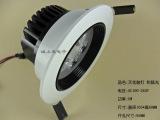 大功率 LED天花灯 方形 5W天花灯 商业照明 嵌入式天花灯