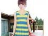 淘宝报活动货源 连衣裙女生最爱水晶绒夏季短袖裙子 虎门低价裙