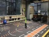 塑膠羽毛球場地板 塑膠地板羽毛球場