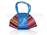 云南民族特色小包包 时尚女士手提包批发 布艺手工包零钱包杂物包