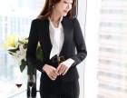 时尚职业女套装长袖西装正装修身工作服长裤工装制服