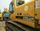 衢州个人一手现代225-7挖掘机整车原版,性能可靠