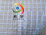 现货1.5米宽10 10mm大格子PVC透明夹网布,网格布