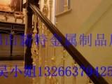成都铝艺楼梯 别墅楼梯护栏 现代旋转楼梯别墅的美