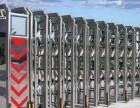 广州直拱电动伸缩门,自动伸缩门安装维修