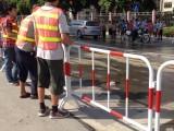广东茂名 道路施工 收费站 交通移动护栏 十字路口 道路改造