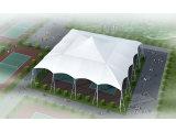 深圳网球场膜结构厂家——盛盈网球场膜结构