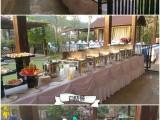 深圳车行4S店那里有上门承办答谢客户晚宴自助餐盆菜