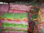 低价处理库存桃皮绒蚕丝棉平纹印花布宽幅布家用纺织品附录音