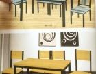 出售食堂大转盘桌子和纯木头椅子厨具各种。