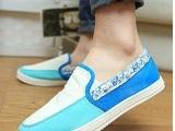 2014春季新款 休闲套脚低帮帆布鞋 女学生板鞋 韩版运动球鞋批
