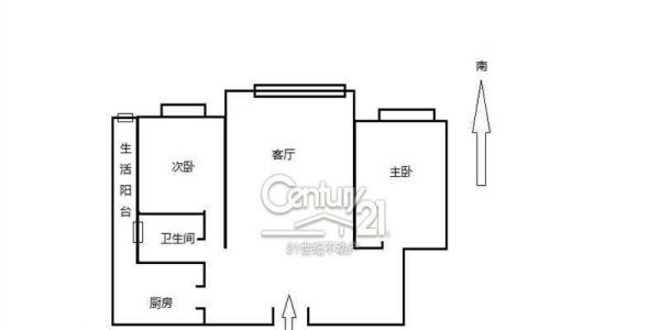Century 21 优质套二精装,办公住宅两不误,超实惠