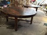 老渔夫茶桌椅会议茶台会客茶桌椅餐桌椅田园风格禅意茶桌椅