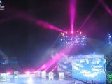 广州专业供应各式舞台如T型舞台、桁架背景搭建、灯光音响出租